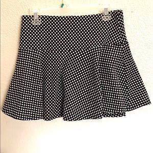 3for$20 Forever21 Mini Skirt Black&White Polka Dot